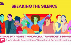 International Day Against Homophobia, Transphobia and Biphobia:  Keep Fighting