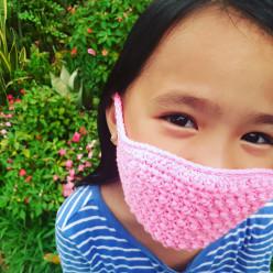 Crochet Cross-Sc Face Mask
