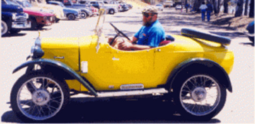 One of the few cars that seem perfectly matched to a bright yellow paint job