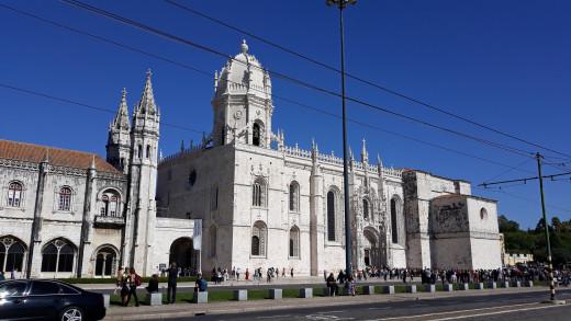 Monastery of Jeronimon Monks in Belém, Lisbon.