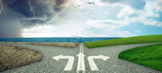 Let us choose the right path and change life for the better
