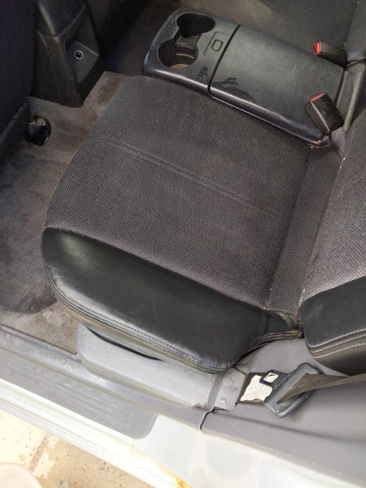 Dusty seats