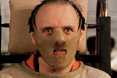 Hannibal Lecter in Silence of the Lambs, 1991