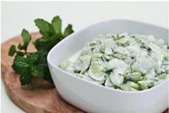 Cucumber Yogurt Salad