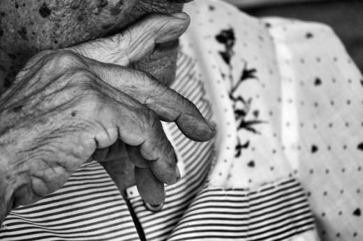 Old people ranked first for coronavirus victims