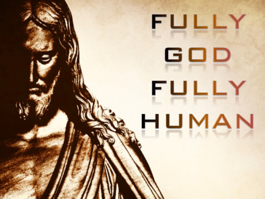 Fully Man & Fully God, God Come In The Flesh!