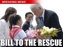 Bill Clinton Was Warmly Received In North Korea To Negotiate Laura & Euna's Release: Photo Courtesy Of Foxnews.com