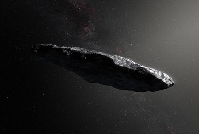 The Cigar shape is most suitable for interstellar travel,Many Sci-fi movies have used this idea