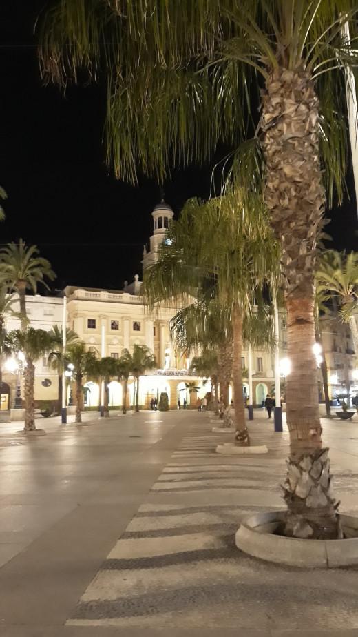 Cadiz city center.