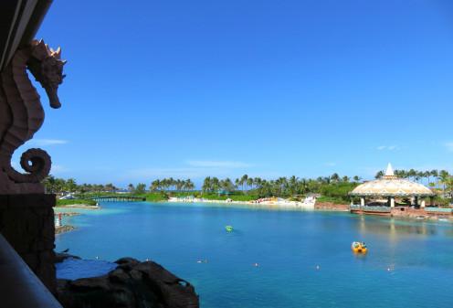 Lagoon at the Atlantis Resort in Nassau