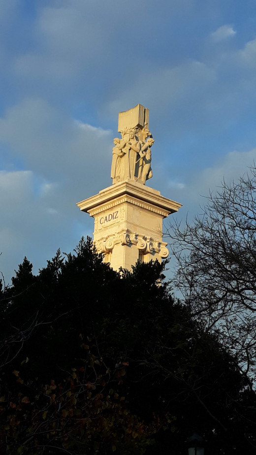 Monument celebrating the Constitution of 1812.
