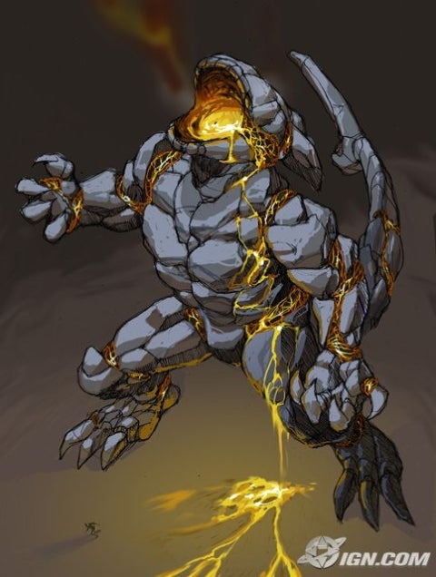 A art piece that you can win in Godzilla Unleashed.