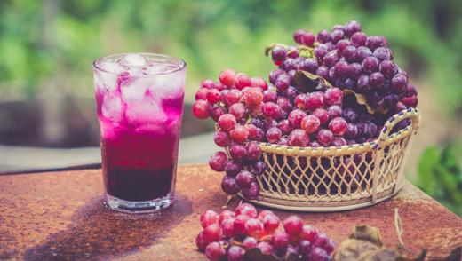 Grape juice is heart healthy