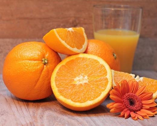 Orange juice can keep arteries clean