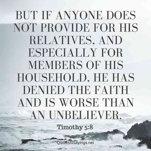Do the needs of the church override the needs of your family?