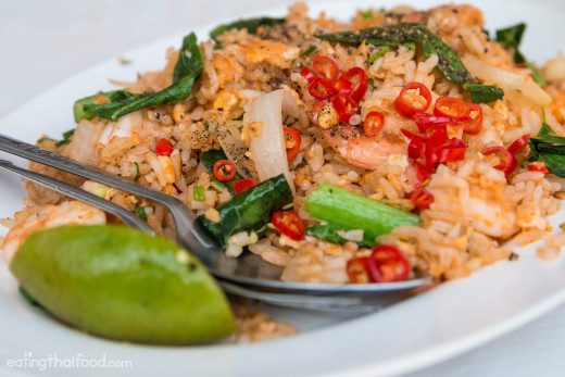 Thai Fried Rice with Thai Chili and Lime