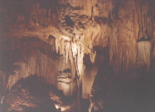 Formation at Luray Caverns, VA.
