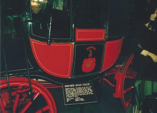 19th century carriage, Car and Carriage Caravan Museum, Luray Caverns, VA