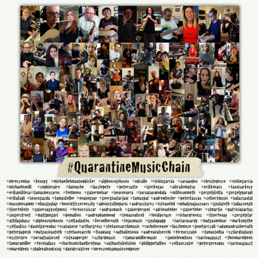 Quarantine Music Chain, a music event showcasing 100 musicians from 15 countries.