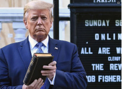 Faith Community Outraged Over Trump's Church Photo-Op During Nationwide Protests