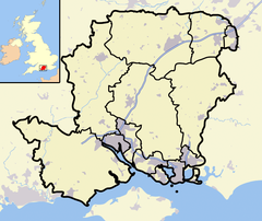The south of England. South Wonston, a small village in Hampshire