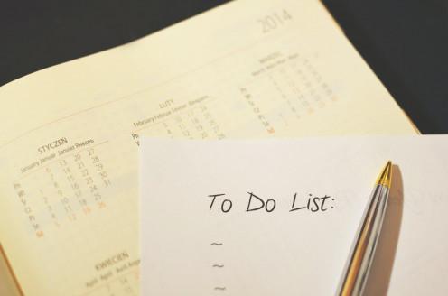 Start with most urgent work