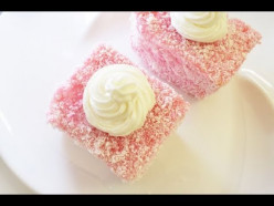 LAMINGTONS Recipe [Super Easy And Delicious Australian Dessert]