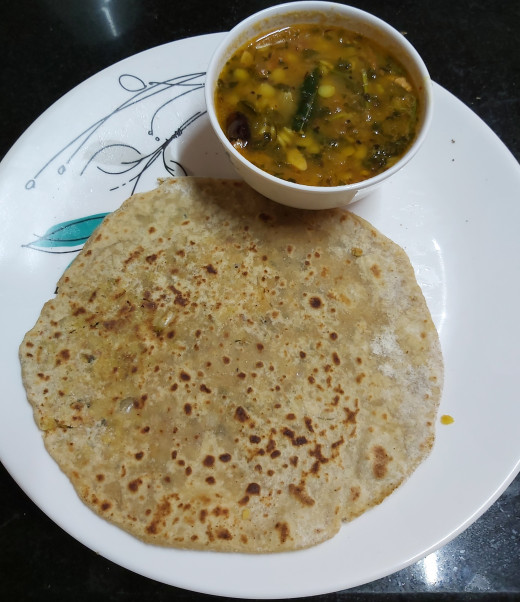 Serve hot with curd, pickle, butter or any curry or gravy of your choice.
