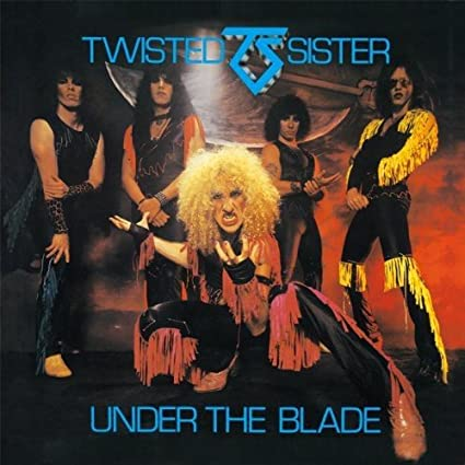 """Twisted Sister """"Under The Blade"""" Secret Records version"""
