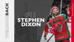 Stephen Dixon Re-Signs for a 3rd Season