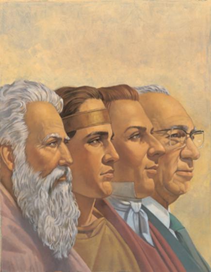 Prophets through Time: Moses, Nephi, Joseph Smith and Gordon Hinckley