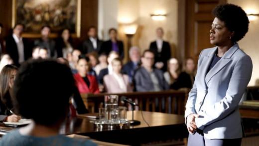 Annalise taking to the Jurors