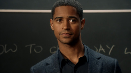 Christopher as a professor in Middleton Law