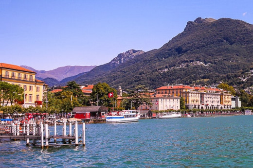 A lake as serene as Lugano!
