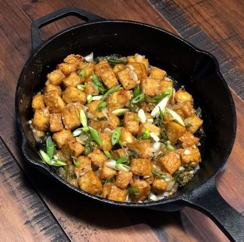 Tofu sisig