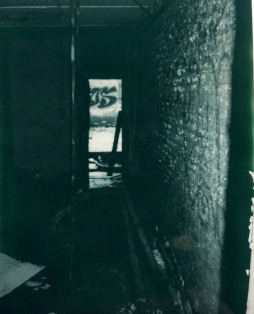 Image belongs to me Hallway where shadow was seen