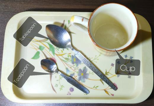Measuring utensils