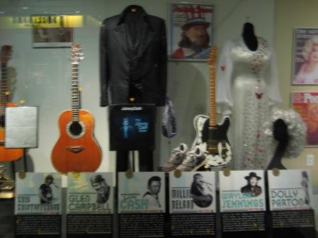 Country Music Hall of Fame guitars that we saw in June of 2008 in Nashville. I had a blast!