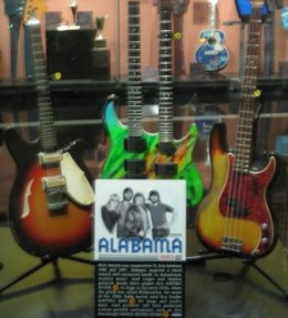 Alabama's Guitar at the Country Music Hall of Fame