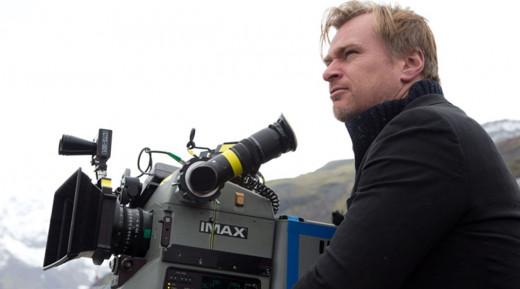 Christopher Nolan, a fan of celluloid