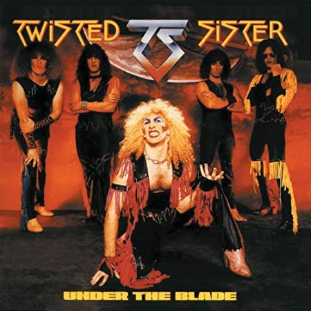 """Twisted Sister """"Under The Blade"""" Atlantic/Spitfire Records version"""