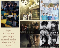 Top 5 K-Dramas Filmed In the First Half of 2020 that you might have missed