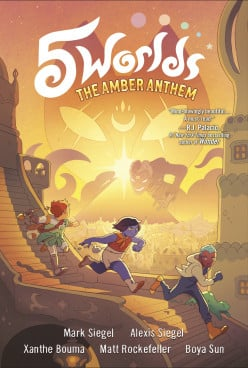 Graphic Novel Adventures With Saving an Overheated World and a Life Lesson