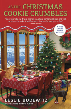 Book Review: As The Christmas Cookie Crumbles by Leslie Budewitz