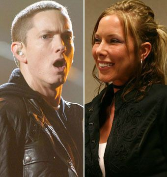 Eminem and his ex-wife, KIm