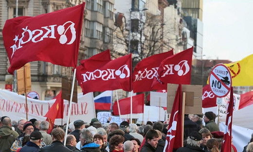 The Czech Communist party is an excellent example of the problems with the book - it talks about popular support for a radical change in Czechia, about the unpopularity of the Communist regime, and never answers why it still retains popularity