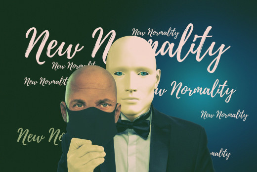 The New Normality is an Illusion