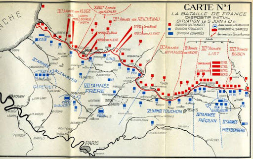 The Weygand line showed the French could fight, but by this stage they were horrifically outmatched by the Germans.