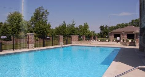 Many apartment complexes offer amenities like swimming pools, hot tubs and saunas.