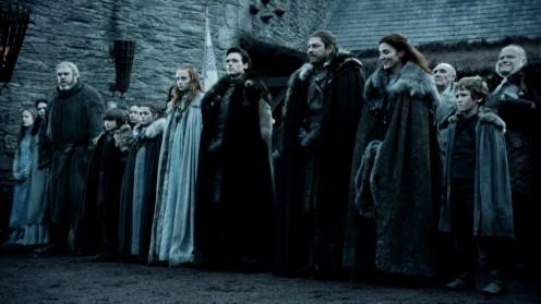 House Stark season one. (Without Jon Snow)